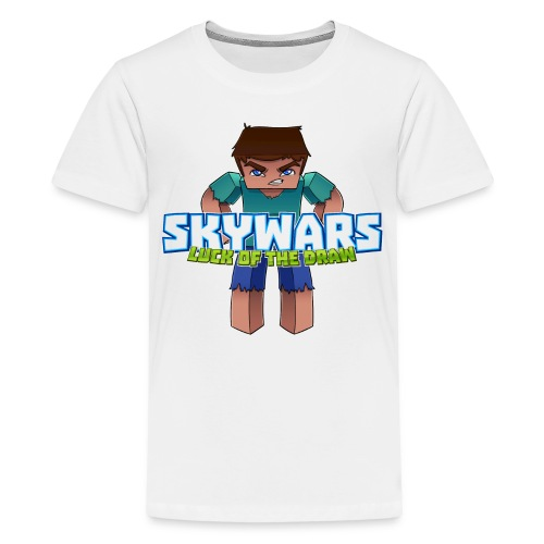SKY with Text png - Kids' Premium T-Shirt