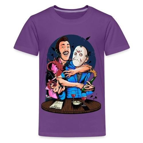 Carlos 4 Delirious Design Male png - Kids' Premium T-Shirt