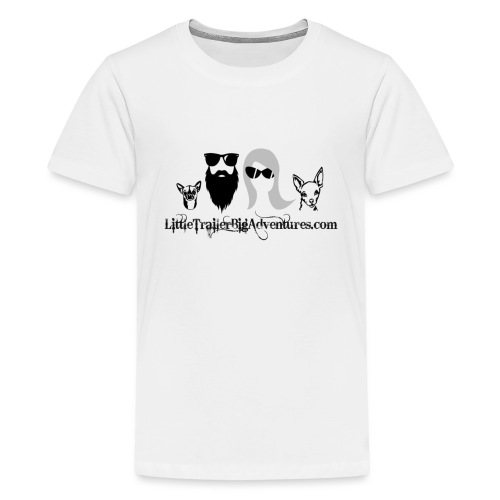 LTBA Headshot - Kids' Premium T-Shirt