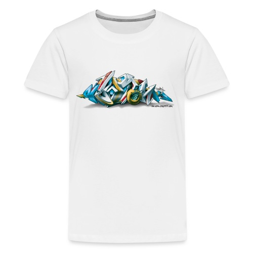Phame Design for New York Graffiti - 3D Style - Kids' Premium T-Shirt