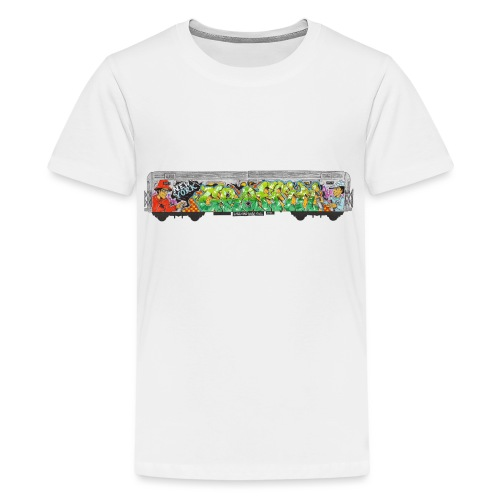 NicOne - NY Graff Design - Kids' Premium T-Shirt