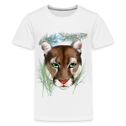 Midnight Puma - Kids' Premium T-Shirt