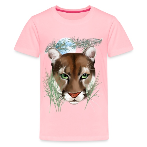 Midnight Puma - Kids' Premium T-Shirt