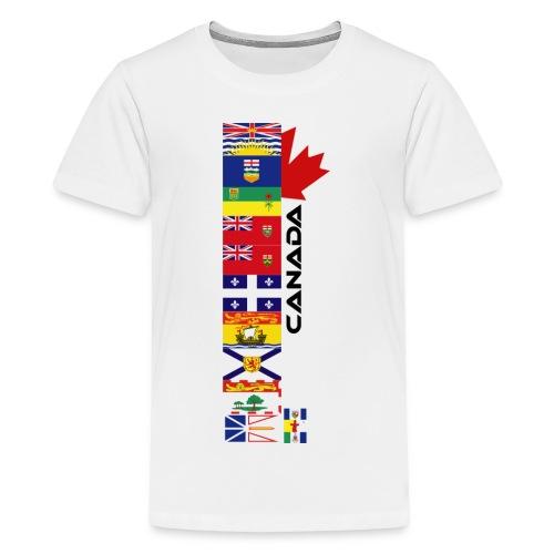 Canadian Provinces - Kids' Premium T-Shirt