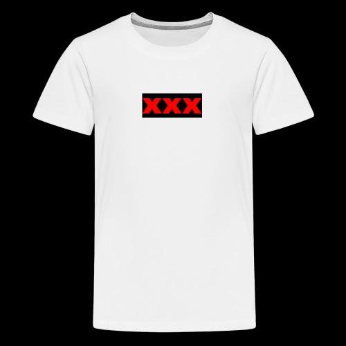 XXX OG Box Logo - Kids' Premium T-Shirt