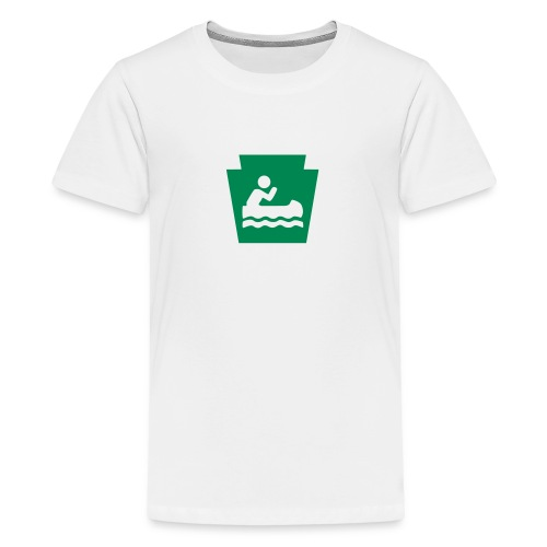 Pennsylvania Keystone Boater PA - Kids' Premium T-Shirt