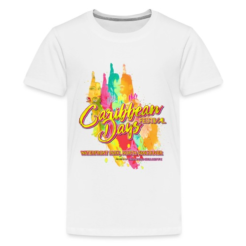 Caribbean Days Festival = Hot! Hot! Hot! - Kids' Premium T-Shirt