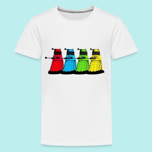 Dalek Four Colours - Kids' Premium T-Shirt