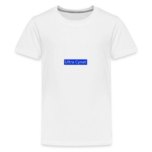 Ultra Cynet Rectangle Blue - Kids' Premium T-Shirt