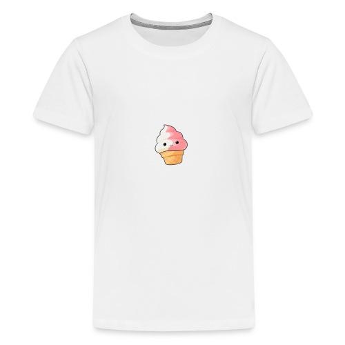 Cute Kawaii ice cream - Kids' Premium T-Shirt