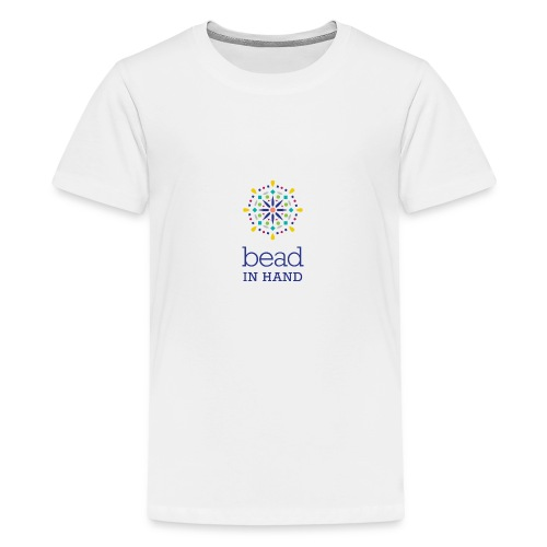 Bead In Hand Logo with tag line - Kids' Premium T-Shirt