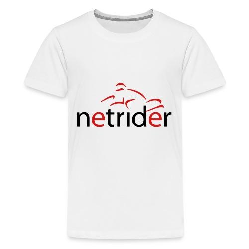 Netrider Logo - Kids' Premium T-Shirt