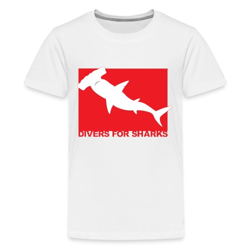 Save Our Sharks & Divers for Sharks - Kids' Premium T-Shirt
