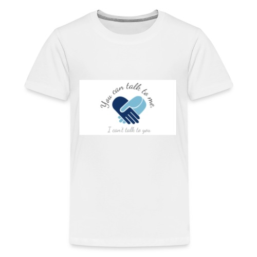 Selective Mutism Whose Choice Logo - Kids' Premium T-Shirt