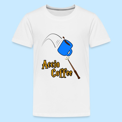 Accio Coffee! (Double Sided) - Kids' Premium T-Shirt