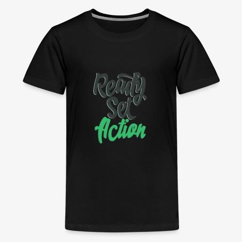 Ready.Set.Action! - Kids' Premium T-Shirt