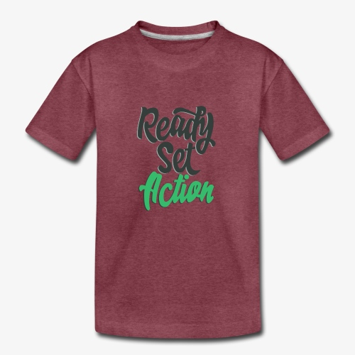 Ready.Set.Action! - Kids' Premium T-Shirt