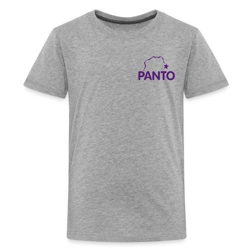 panto stencil smallest - Kids' Premium T-Shirt