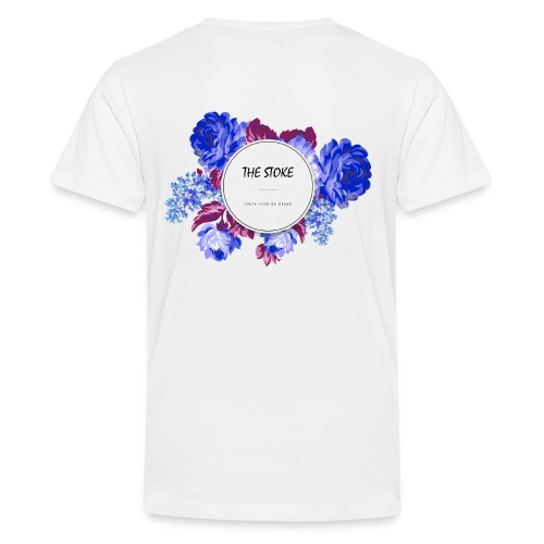 The Stoke Badge Floral - Kids' Premium T-Shirt