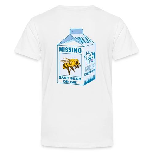Missing Bees - Kids' Premium T-Shirt