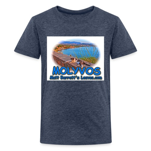 Molyvos cat jpg - Kids' Premium T-Shirt