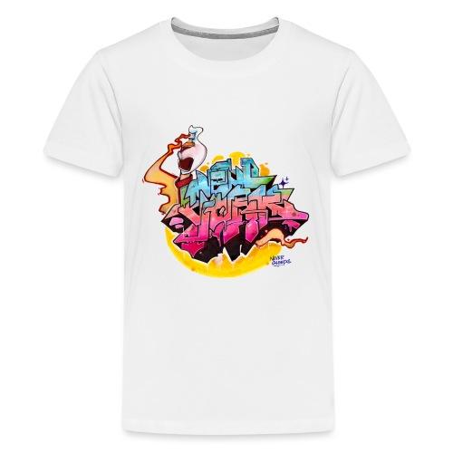 Hideout - NYG Design 2 - Kids' Premium T-Shirt