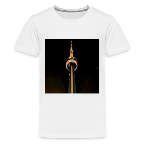 Gold CN Tower - Kids' Premium T-Shirt