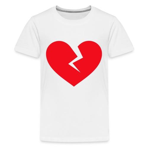 Broken Heart - Kids' Premium T-Shirt