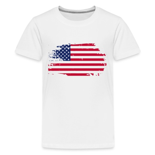 usa america american flag - Kids' Premium T-Shirt
