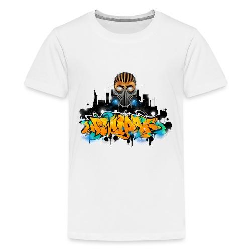 2.ezy - Design for New York Graffiti Color Logo - - Kids' Premium T-Shirt