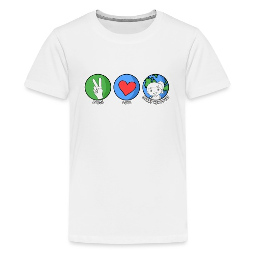 Peace, Love, Carry Kindness - Kids' Premium T-Shirt