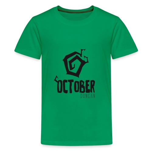 October Duncan2 01 png - Kids' Premium T-Shirt
