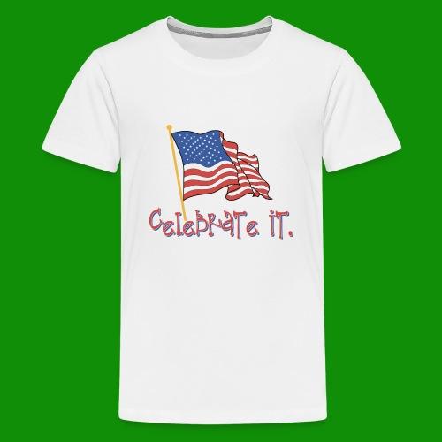 USA Celebrate It - Kids' Premium T-Shirt