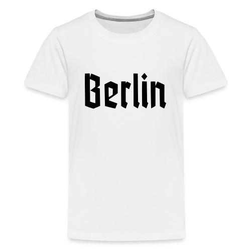 BERLIN Fraktur Font - Kids' Premium T-Shirt