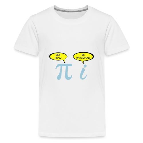 Get real Be rational - Kids' Premium T-Shirt