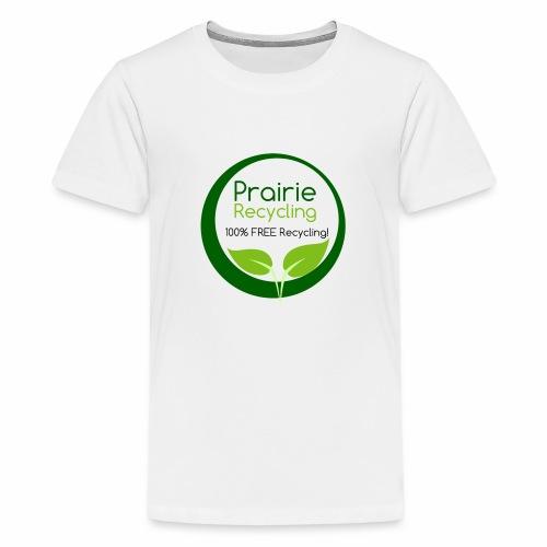 Prairie Recycling Official Logo - Kids' Premium T-Shirt