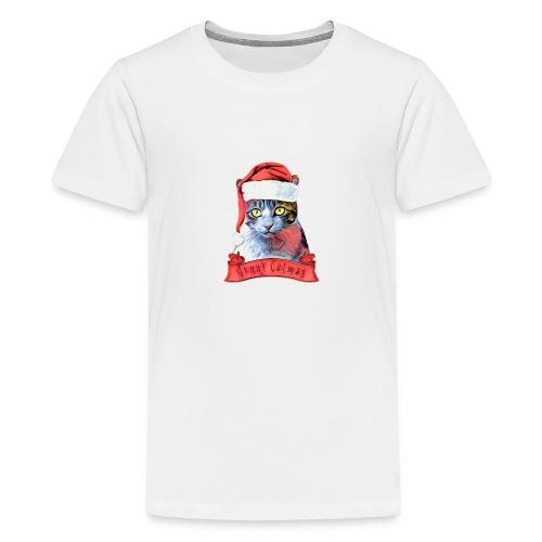 MERRY CATMAS - Kids' Premium T-Shirt