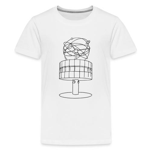 World time clock Berlin - Kids' Premium T-Shirt