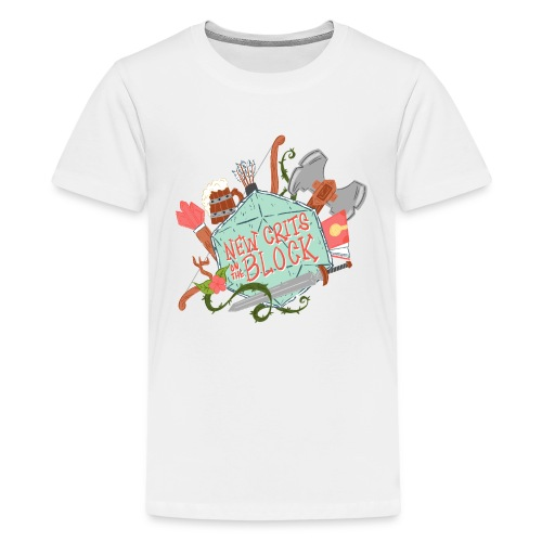 New Crits Logo - Kids' Premium T-Shirt