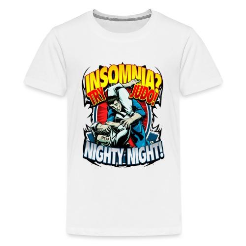 Judo Shirt - Insomnia Judo Design - Kids' Premium T-Shirt