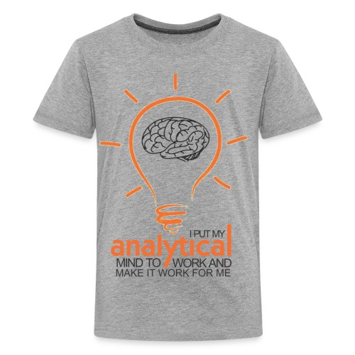 ANALYTICAL MIND - Kids' Premium T-Shirt