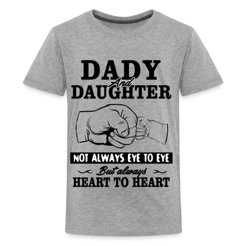 Dady and Daughter - Kids' Premium T-Shirt