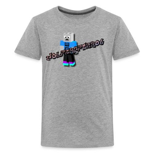 Wolfcrafter06 - Kids' Premium T-Shirt
