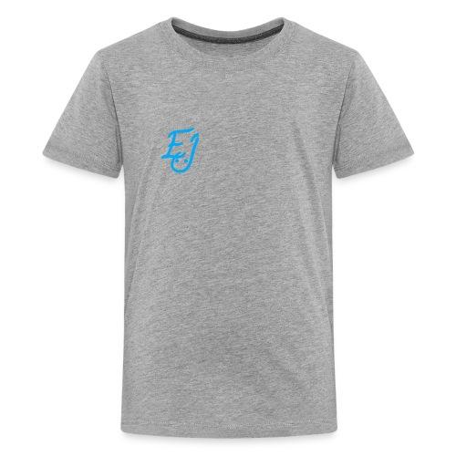 The EJ logo shirt - Kids' Premium T-Shirt