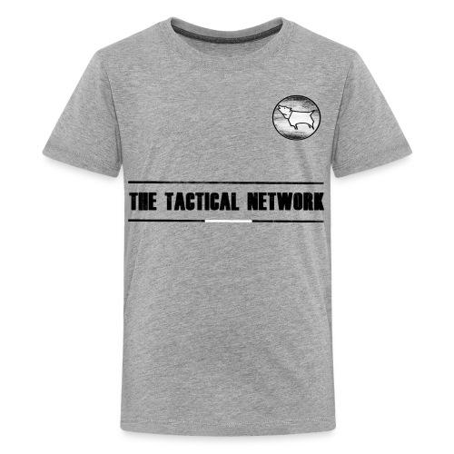 The Tactical Network - Away Kit - Kids' Premium T-Shirt