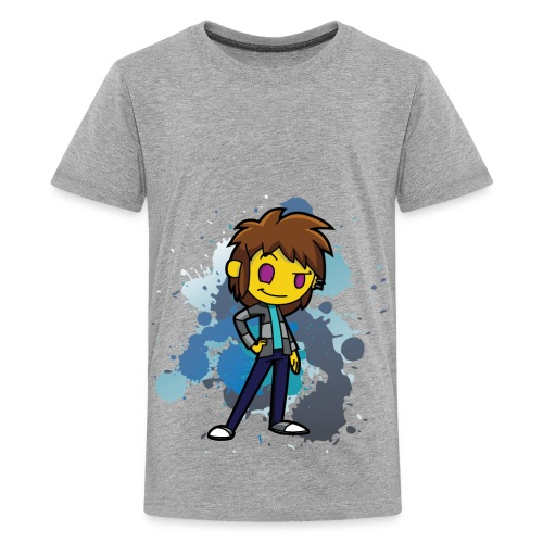 Darkar Paint Blue - Kids' Premium T-Shirt