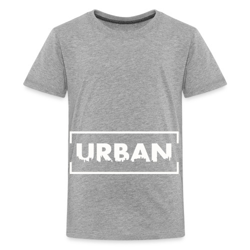 Urban City Wht - Kids' Premium T-Shirt