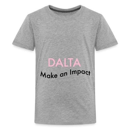 Make an Impact - Kids' Premium T-Shirt