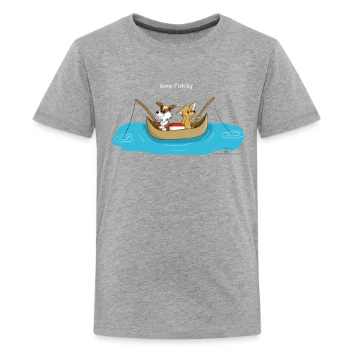 Gone Fishing - Kids' Premium T-Shirt