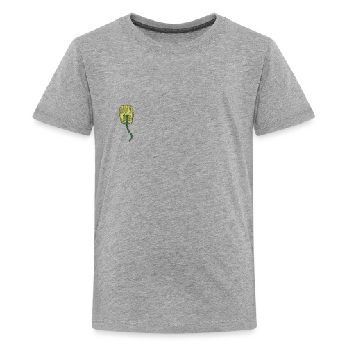 venus fly trap as a hair clip - Kids' Premium T-Shirt